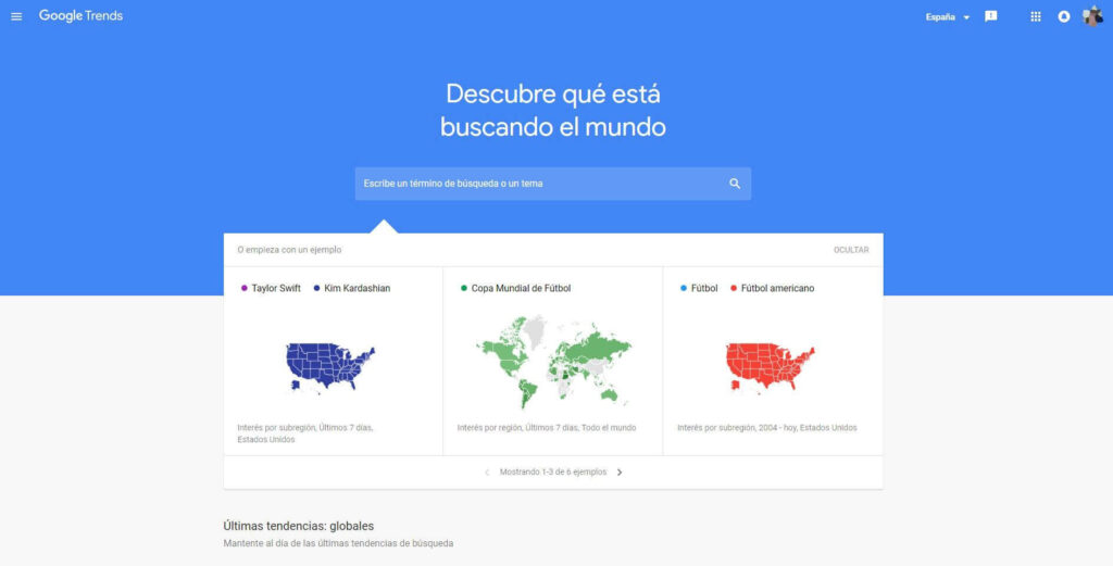 usar google trends