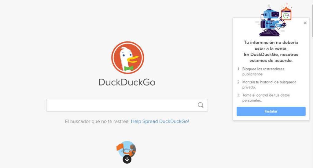 buscador alternativo google
