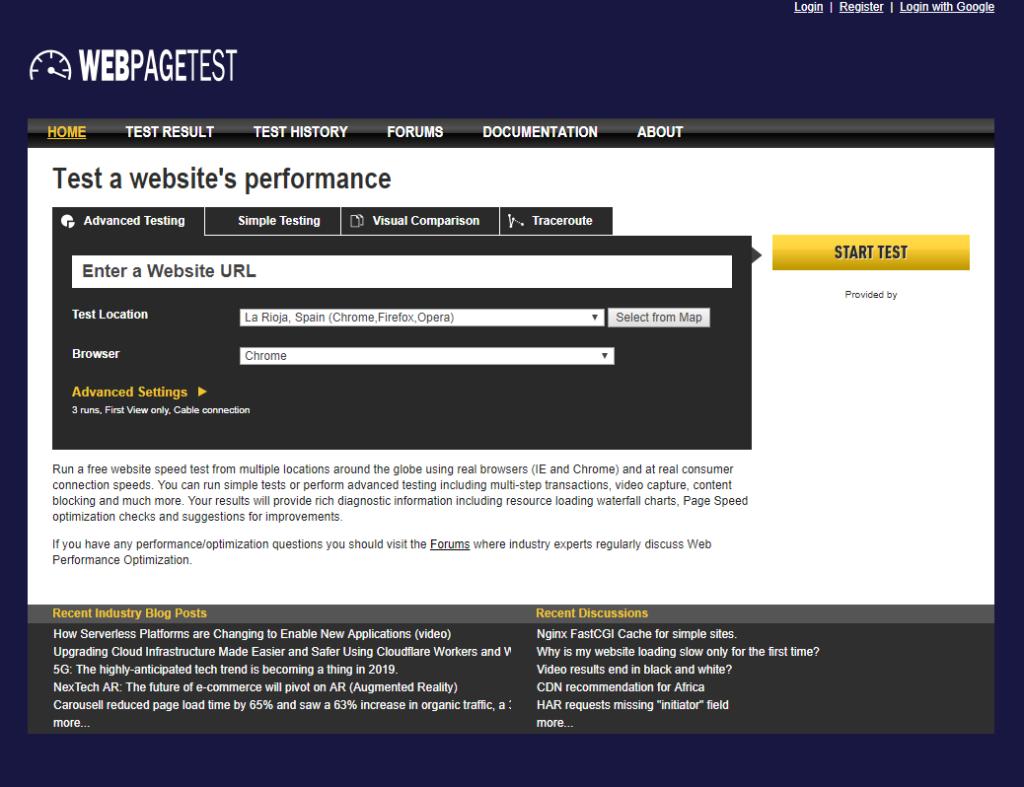 WebPageTest_wpo