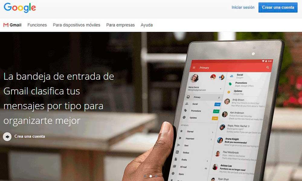Cómo enviar un correo electrónico por Gmail