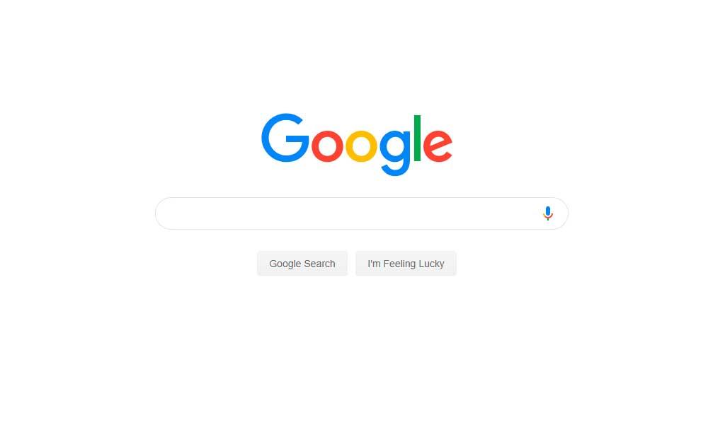 No aparece Google como motor de búsqueda, ¿qué puedo hacer?